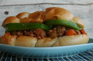 Turkey Veggie Sloppy Joes (5)